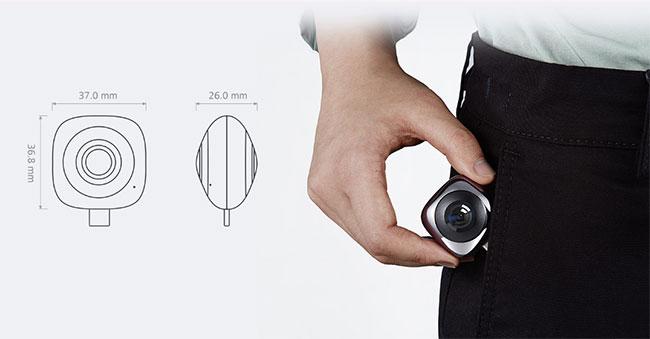 MÁY ẢNH Camera 360 HUAWEI EnVizion GIÁ RẺ TẠI HÀ NỘI