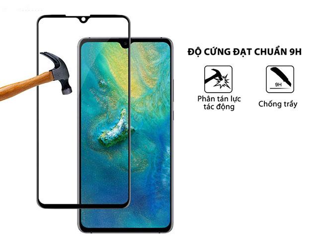 dán kính cường lực Huawei Mate 20 X full màndán kính cường lực Huawei Mate 20 X full màn