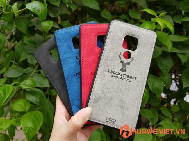 ốp lưng Huawei Mate 20 hình Nai 3D vân da đẹp giá rẻ