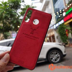 ốp lưng Huawei P30 Lite hình Nai 3D đỏ