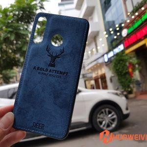 ốp lưng Huawei P30 Lite hình Nai 3D xanh