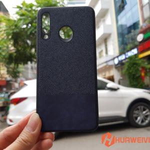 ốp lưng Huawei P30 Lite vải 3 lớp xanh