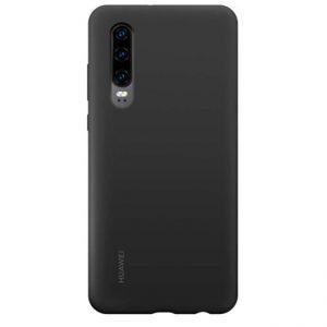 Ốp lưng Huawei P30 Silicon màu chính hãng đen