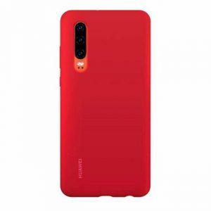 Ốp lưng Huawei P30 Silicon màu chính hãng đỏ