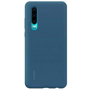 Ốp lưng Huawei P30 Silicon màu chính hãng xanh