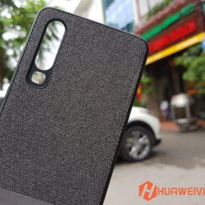 Ốp lưng Huawei P30 vải 3 lớp