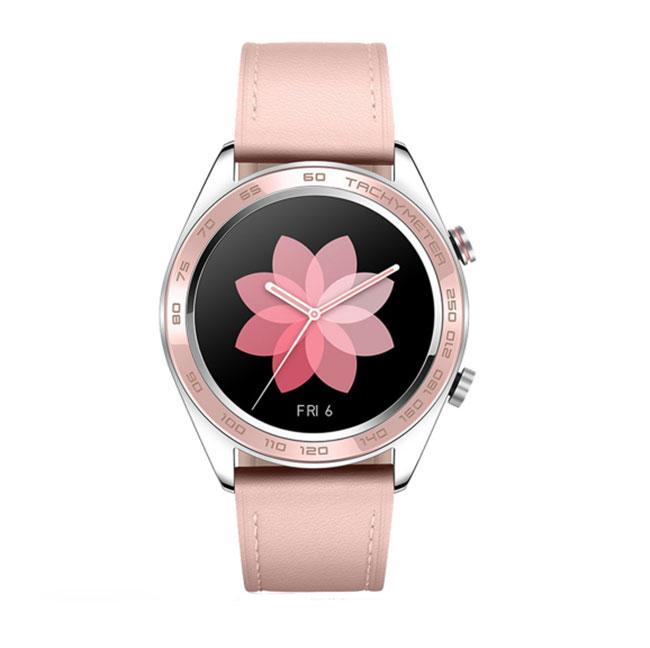 đồng hồ thông minh huawei honor magic watch dream viền creamic bezel hồng