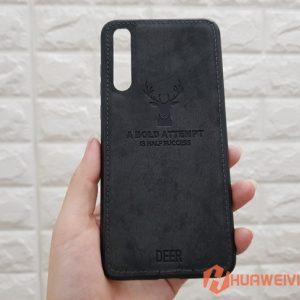 ốp lưng Huawei P20 Pro hình nai 3d đen