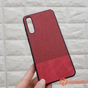ốp lưng Huawei P20 Pro vải 3 lớp đỏ