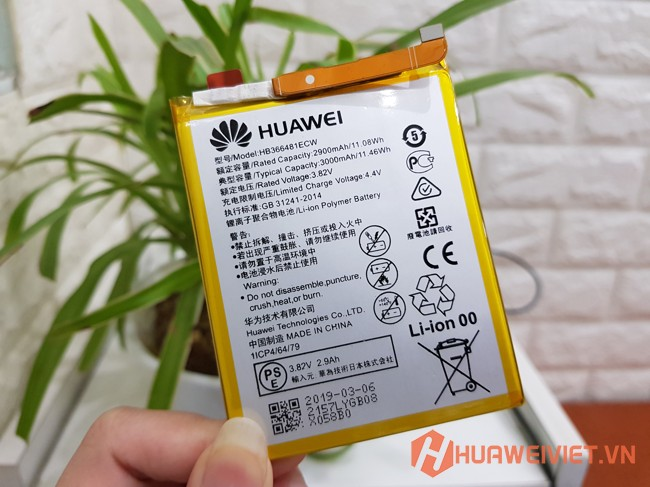 thay pin huawei enjoy 7s chính hãng giá rẻ