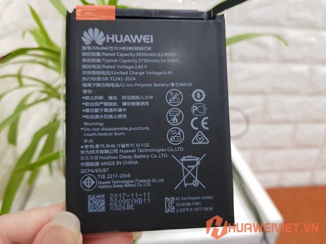 thay pin huawei honor 8x chính hãng giá rẻ