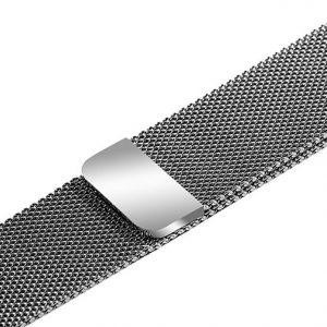 dây đồng hồ kim loại huawei watch gt nam châm bạc