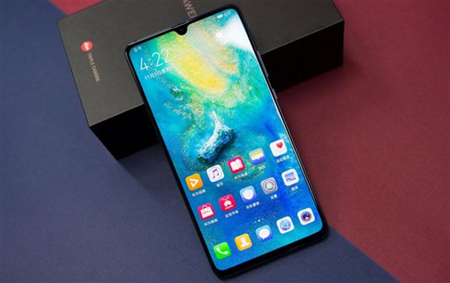 thay thế ép mặt kính màn hình Huawei Mate 20 X chính hãng giá rẻ
