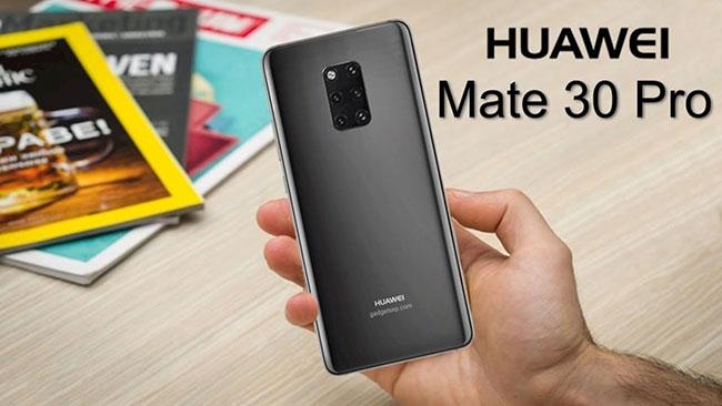 lộ diện Huawei Mate 30, Mate 30 pro