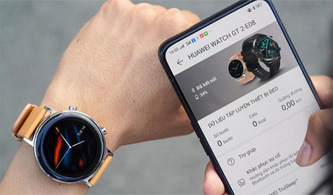 Mua đồng hồ thông minh Huawei Watch GT 2 Classic bản 42mm chính hãng cao cấp có bảo hành giá bao nhiêu ở đâu Hà Nội TPHCM