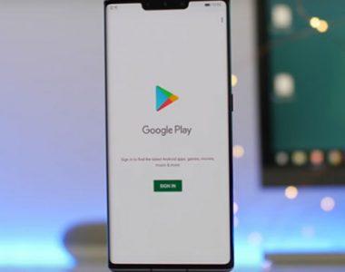 hướng dẫn cách cài đặt ứng dụng google cho Huawei mate 30 pro
