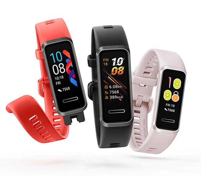 địa chỉ mua vòng đeo tay thông minh Huawei Band 4 chính hãng giá rẻ có bảo hành hà nội hcm