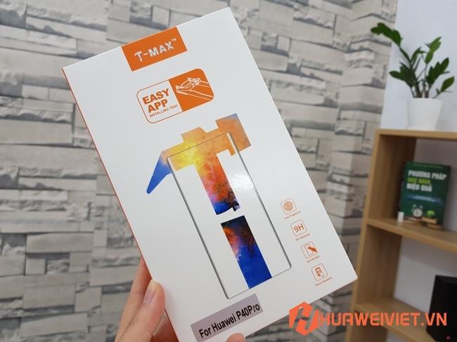 Miếng dán kính cường lực full màn P40 Pro dùngkeo UV tốt nhất không bong chống bám vân tay