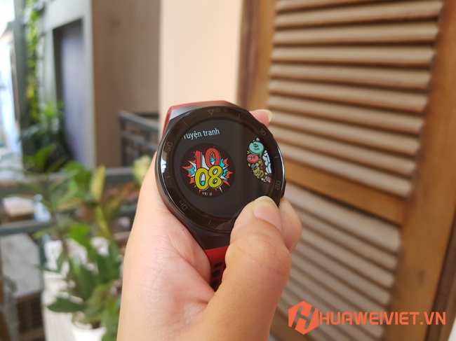 đồng hồ thông minh Huawei Watch GT 2E nhiều mặt đồng hồ đẹp