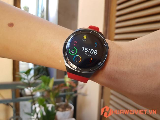 đồng hồ thông minh Huawei Watch GT 2E điều khiển từ xa