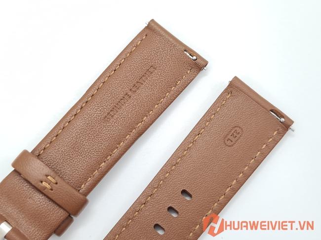 Địa chỉ mua dây da cho đồng hồ Huawei Watch GT, GT 2, Honor Magic Watch, Magic 2 size 22mm chính hãng cao cấp giá rẻ ở đâu tại Hà Nội, TPHCM?