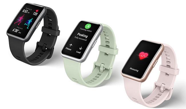 Đánh giá đồng hồ thông minh Huawei Watch Fit chính hãng