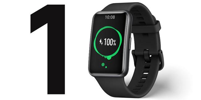 đồng hồ thông minh huawei watch fit pin 10 ngày