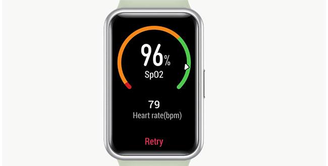đồng hồ thông minha huawei fit đo spo2
