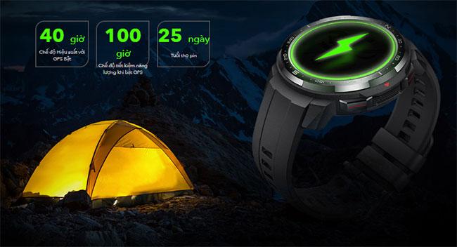 Đánh giá review đồng hồ thông minh Huawei Honor Watch GS Pro