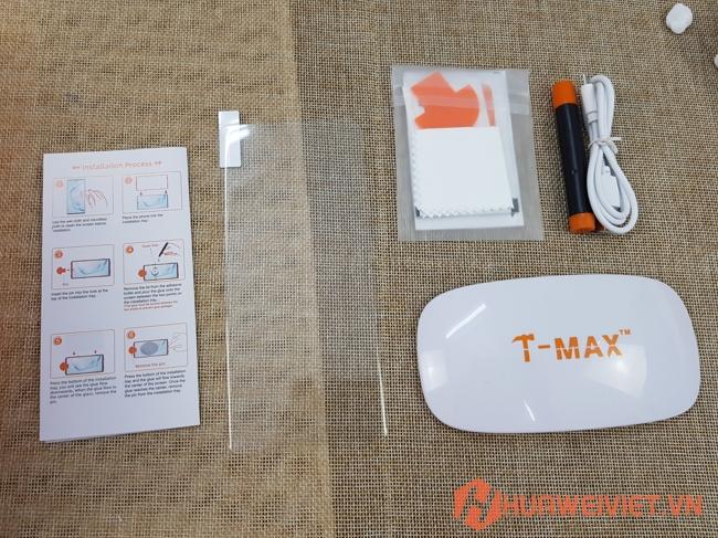 dán kính cường lực Huawei Mate 40 Pro màn hình full keo UV